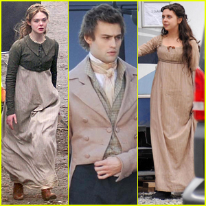 Elle Fanning & Douglas Booth Start Filming 'A Storm In the Stars'
