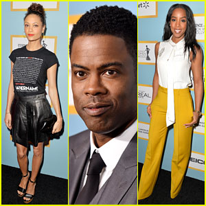 Oscars Host Chris Rock Joins Stars at Essence's Black Women in Hollywood Luncheon