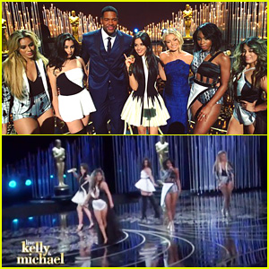 Fifth Harmony Performs 'Work From Home' on 'Kelly & Michael' - Watch Now!