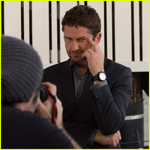 Gerard Butler Fronts Festina Watches New Campaign!