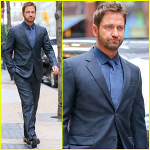 Gerard Butler Joins Instagram, Posts First Pic at 'Fallon'