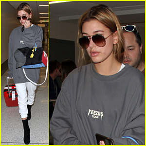 Hailey Baldwin is Back on the West Coast After NYFW
