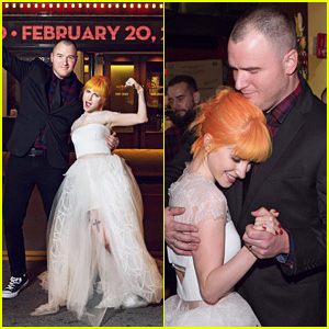 Paramore's Hayley Williams' Wedding Photos to Chad Gilbert Revealed!