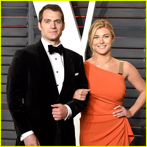 Henry Cavill Brings Girlfriend Tara King to Vanity Fair Oscar Party