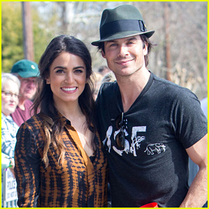 Nikki Reed & Ian Somerhalder Spend Valentine's Day with Puppies!