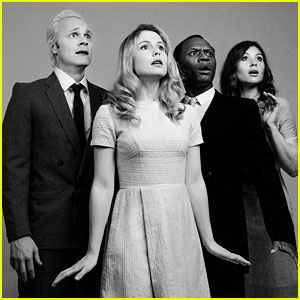 Rose McIver & 'iZombie' Cast Go Classic For New Photo Shoot