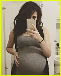 Jasmine V Is Almost Ready to Give Birth!