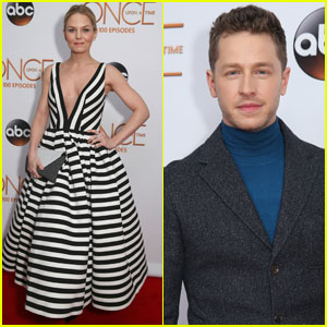 Jennifer Morrison & Josh Dallas Celebrate 100 Episodes of 'Once Upon a Time' With the Cast!