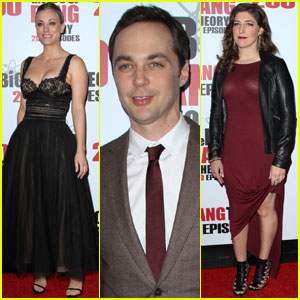 Kaley Cuoco & Jim Parsons Celebrate Big Bang's 200th Episode!