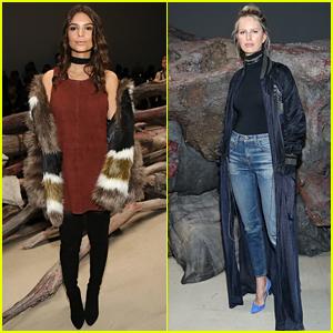 Emily Ratajkowski & Karolina Kurkova Make A Chic Arrival at NYFW 2016