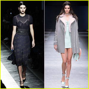 Kendall Jenner Jumps Out of Car Before it Crashes (Video)