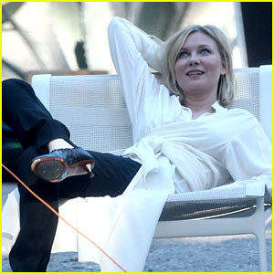 Kirsten Dunst Lounges Around for Laid Back Photo Shoot