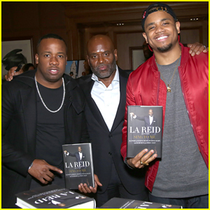 L.A. Reid Celebrates 'Sing To Me' Book Release!
