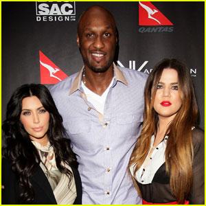 Lamar Odom Takes a Hike With Khloe & Kim Kardashian