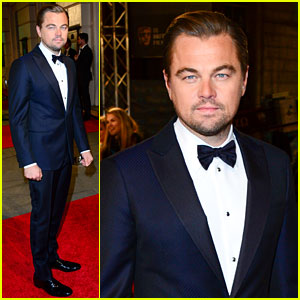 Leonardo DiCaprio Looks So Dapper on BAFTAs 2016 Red Carpet