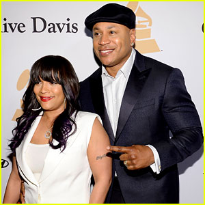 LL Cool J & Wife Simone Smith Attend Pre-Grammys Party!