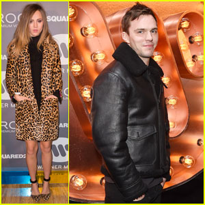 Nicholas Hoult & Suki Waterhouse Party After BRIT Awards 2016