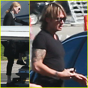 Nicole Kidman Takes Break From 'Big Little Lies', Jets Out with Hubby Keith Urban!
