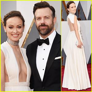 Olivia Wilde & Jason Sudeikis Heat Up Oscars 2016 Red Carpet!