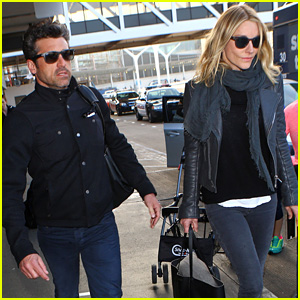 Patrick Dempsey & Wife Jillian Arrive Back in Town Amid Reconciliation Reports!