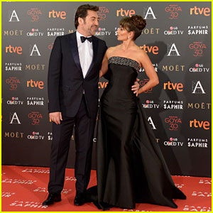 Penelope Cruz Joins Javier Bardem at Goya Cinema Awards 2016