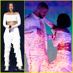 Rihanna's BRIT Awards 2016 Performance Video with Drake - WATCH NOW!