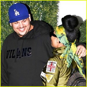 Rob Kardashian Says He Dropped His Family for Blac Chyna