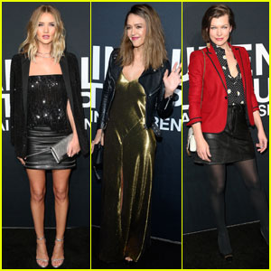 Rosie Huntington-Whiteley & Jessica Alba Celebrate Saint Laurent at the Palladium