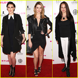 Rumer Willis & Mischa Barton Have A 'Night' At 'Nylon's Muses & Music Party!