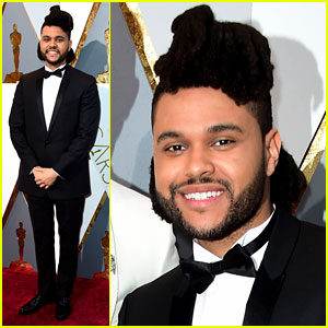 The Weeknd Has Best Reaction to Stacey Dash at Oscars 2016!