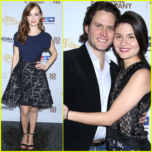 Ahna O'Reilly & Steven Pasquale Celebrate 'The Robber Bridegroom' Opening