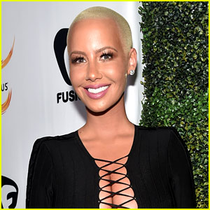 Amber Rose Frees the Nipple in New NSFW Photo