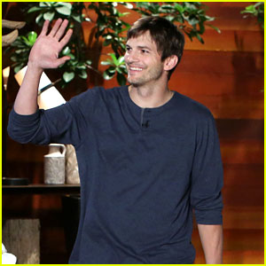 Ashton Kutcher Talks About His Secret Wedding on 'Ellen'