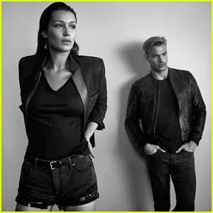 Bella Hadid & Matthew Noszka Star in Joe's Jeans New Campaign!