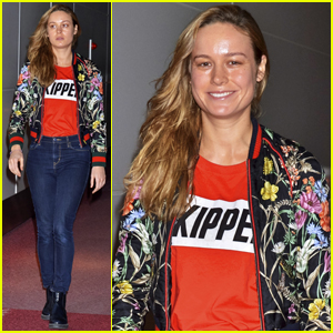 Brie Larson Eats at Eight Street Food Stands in One Night
