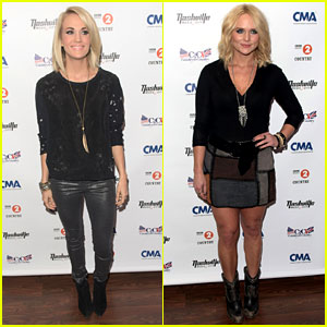 Carrie Underwood & Miranda Lambert Perform at Country Music Festival in London!