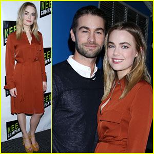 Chace Crawford Supports Girlfriend Rebecca Rittenhouse at Off-Broadway Play Opening!