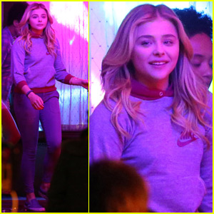 Chloe Moretz Films Scenes for 'Neighbors 2' After Kim Kardashian Twitter Feud