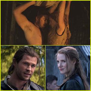 Chris Hemsworth & Jessica Chastain Get Steamy in New 'Huntsman' Trailer!