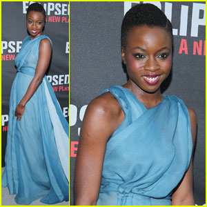 Danai Gurira Steps Out for Broadway's 'Eclipsed' Opening