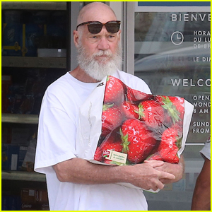 David Letterman is Totally Bald & Bearded in St. Barts