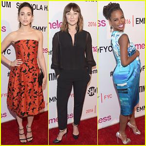 Emmy Rossum Joins The Women of 'Shameless' At WeHo Panel!