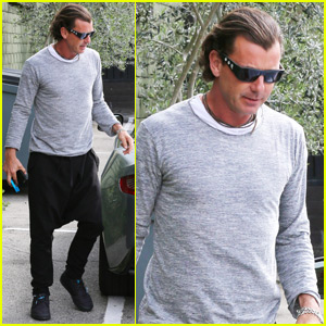 Gavin Rossdale Steps Out After News of Nanny's Pregnancy