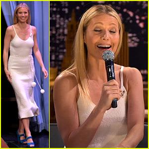 Gwyneth Paltrow Sings Awkward Texts with Jimmy Fallon!