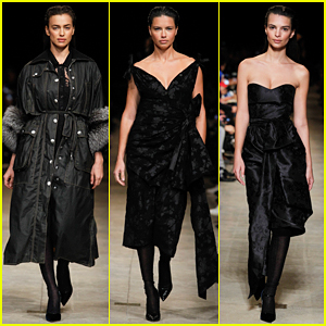 Irina Shayk & Adriana Lima Hit Runway For Miu Miu Fashion Show - Watch Full Presentation Here!