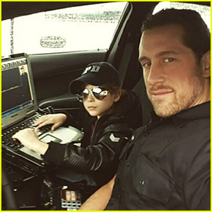 Jacob Tremblay Joins His Police Officer Dad at Work For a Day!