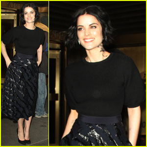 Jaimie Alexander Emerges After Ending Engagement to Peter Facinelli