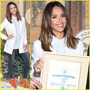 Jessica Alba Celebrates Honest Company's New Headquarters!