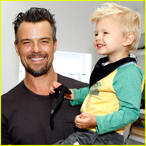 Josh Duhamel & Son Axl Help Save Sea Turtles!
