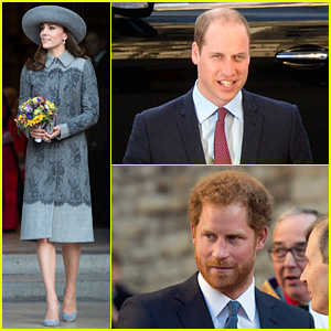 Kate Middleton & Royal Family Attend Commonwealth Day Service